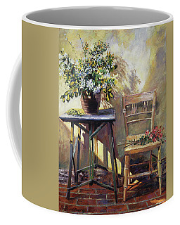 Pottery Maker's Table Coffee Mug