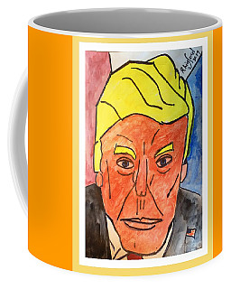 Potus Trump Sorry Negatives Give You A Hard Time Courage And On To Your Positive Victories Coffee Mug