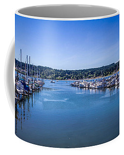 Coffee Mug featuring the photograph Poulsbo Marina by Randy Bayne