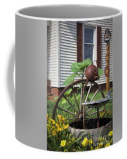 Coffee Mug featuring the photograph Pouring Out The Past by Benanne Stiens