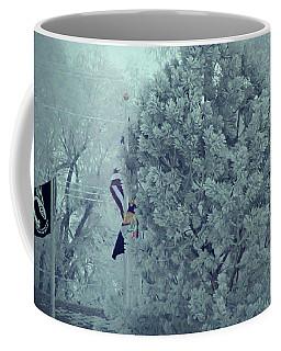 Pow January Fog Coffee Mug by Aliceann Carlton