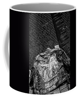 Pow Mia Never Forget Coffee Mug by Sennie Pierson
