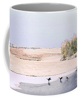 Powell Gardens In Winter Coffee Mug
