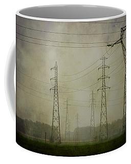 Power 5. Coffee Mug by Clare Bambers