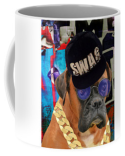 Coffee Mug featuring the mixed media Power Elite by Marvin Blaine