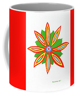 Power Flower Coffee Mug