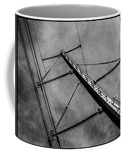 Power Line Sky Coffee Mug