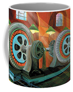 Power Plant Turbines Coffee Mug