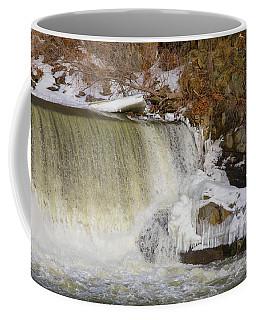 Power Station Falls On Black River Three Coffee Mug
