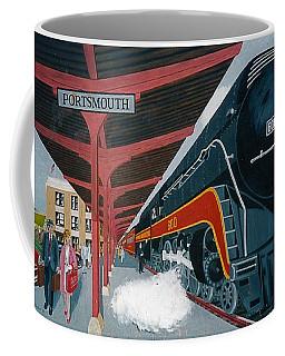 Powhattan Arrow At Portsmouth Coffee Mug by Frank Hunter