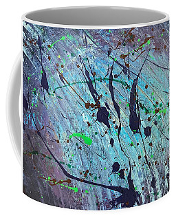 Coffee Mug featuring the painting Practice Board - Nightingale by Robbie Masso