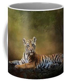 Practicing My Big Kitty Stare Coffee Mug