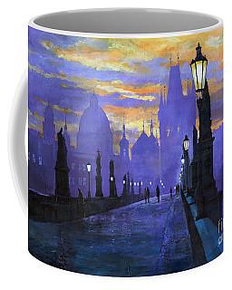 Prague Charles Bridge Sunrise Coffee Mug