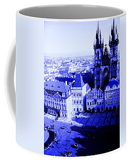 Coffee Mug featuring the photograph Prague Cz by Michelle Dallocchio