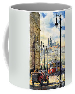 Prague Kaprova Street Coffee Mug