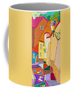 Prague Old Street Ceminska Novy Svet Coffee Mug