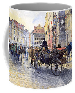 Prague Old Town Hall And Astronomical Clock Coffee Mug