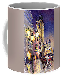 Prague Old Town Square 3 Coffee Mug