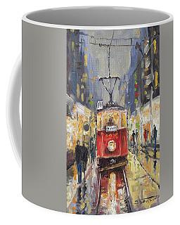 Prague Old Tram 08 Coffee Mug