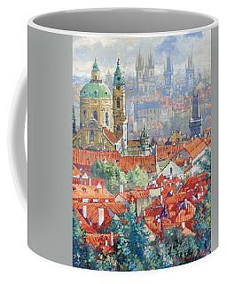 Prague Summer Panorama 1 Coffee Mug