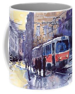 Prague Tram 02 Coffee Mug