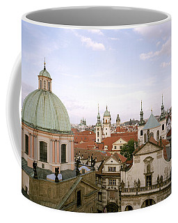 Prague Twilight Coffee Mug by Shaun Higson