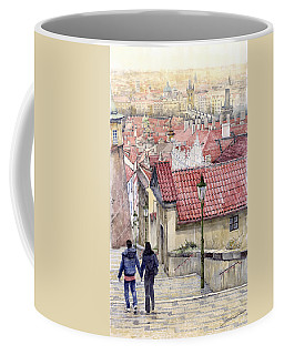 Prague Zamecky Schody Castle Steps Coffee Mug