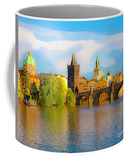 Praha - Prague - Illusions Coffee Mug