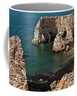 Praia Da Marinha Cliffs And Sea Coffee Mug