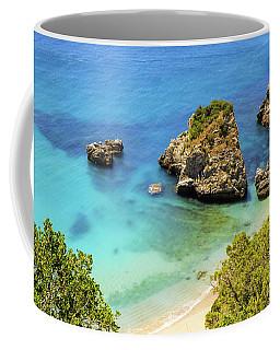Praia Da Ribeira Do Cavalo In Sesimbra, Portugal Coffee Mug