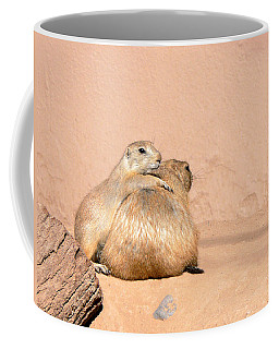 Prairie Dog Friends Coffee Mug by Laurel Powell