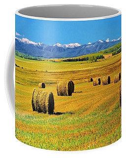 Prairie Moutains And Fields Coffee Mug