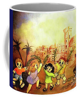 Praise Him Coffee Mug by Hazel Holland