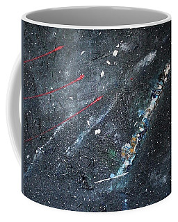 Coffee Mug featuring the painting Prana by Michael Lucarelli