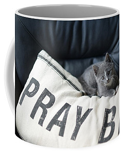 Coffee Mug featuring the photograph Pray Big by Linda Mishler