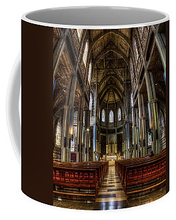 Our Lady Of Nahuel Huapi Cathedral In The Argentine Patagonia Coffee Mug