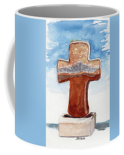 Prayer Cross Coffee Mug