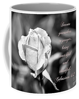 Coffee Mug featuring the photograph Prayer by Debby Pueschel