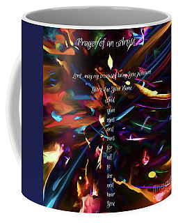 Coffee Mug featuring the digital art Prayer Of An Artist 2 by Margie Chapman