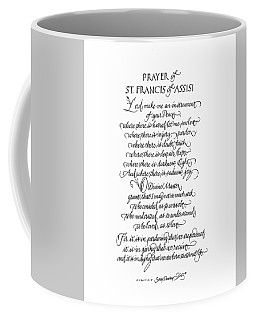 Prayer Of St. Francis Of Assisi Coffee Mug