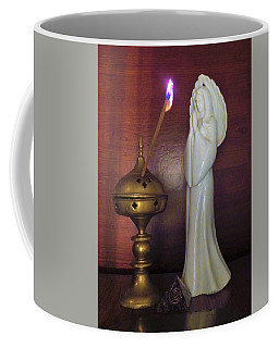 Coffee Mug featuring the photograph Prayer Petition by Denise Fulmer