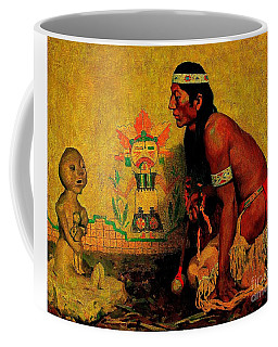Prayer To The Rain God Coffee Mug