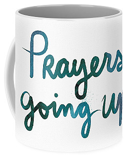 Prayers Going Up- Art By Linda Woods Coffee Mug