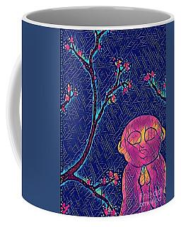 Praying Buddha Coffee Mug