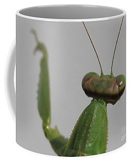 Coffee Mug featuring the photograph Praying Mantis by Susan Carella