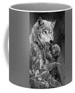 Precious Moment - Black And White Coffee Mug