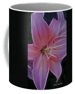 Precious Pink Lily Coffee Mug by Joann Copeland-Paul
