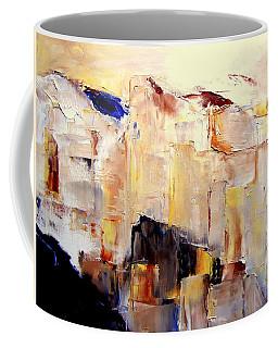 Precipice 1 Austrian Alps Imagined-dedicated  Coffee Mug