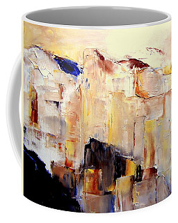 Precipice 1 Austrian Alps Imagined Coffee Mug