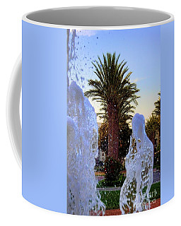Coffee Mug featuring the photograph Pregnant Water Fairy by Mariola Bitner